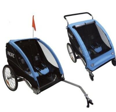 Pacific Deluxe Trailer Jogger Child Children Bike Bicycle New Mtb Cruiser