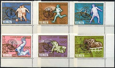 Yemen 1967 SG#R177-R182 England World Cup Football Victory MNH Set #D58525