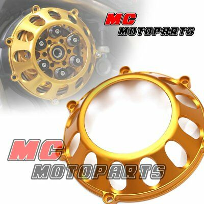 Gold For Ducati Billet Clutch Cover For Monster S4R 620 750 900 800 1000 CC27