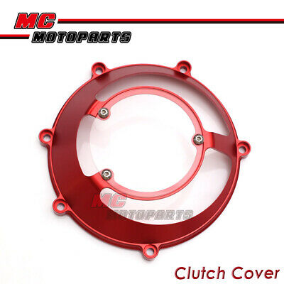 Black For Ducati Billet Clutch Cover For ST2 ST4 s Multistrada 1000 1100 DS CC31