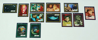 Vintage Impel Star Trek 25th Anniversary Trading Cards 1991 Lot (Incomplete)