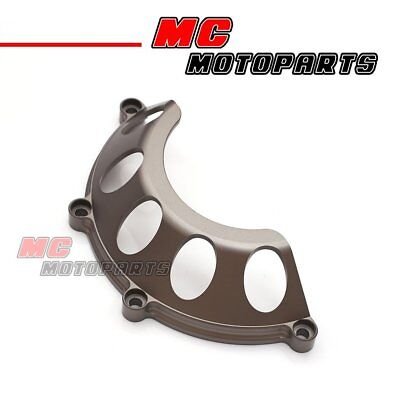 Titanium CNC Half Dry Clutch Cover For Ducati Supersport 900 750 1000 SS CC35