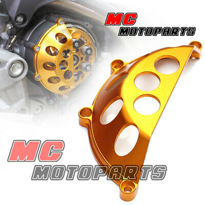Red Half Billet Clutch Cover For Ducati 748 749 999 1098 1198 S R CC45