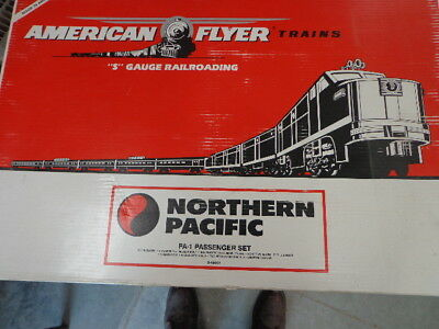 Lionel American Flyer # 49602 Northern Pacific North Coast Limited Set