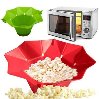 New Arrival 1 Pcs Silicone Microwave Magic Popcorn Maker Kitchen Accessories V#
