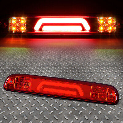 For 99-16 Ford Super Duty 3D Led Red Third 3Rd Tail Brake Light W/cargo Lamp
