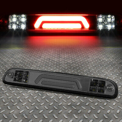 For 99-16 Ford Super Duty 3D Led Smoked Third 3Rd Tail Brake Light W/cargo Lamp