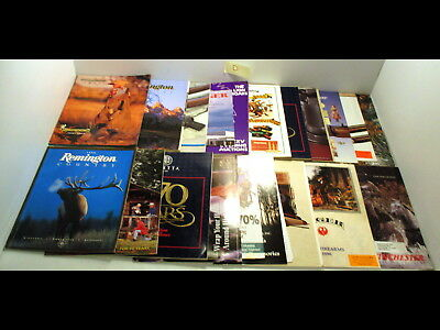 20 Hunting/Firearms/Ammo/Gun/Rifle Magazines 1990s Remington/Browning/Winchester
