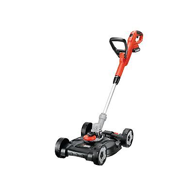 BLACK+DECKER 3-in-1 Rasentrimmer STC1820CM, 18Volt, orange