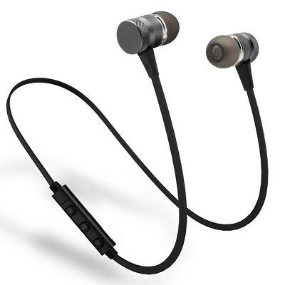 Wireless Headphone Bluetooth V4.1 Neckband Earphone Earbud For Android IOS Phone
