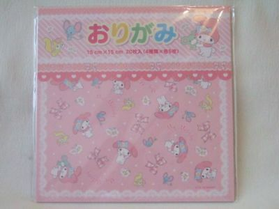 Sanrio  My Melody origami paper holding paper 20 sheets