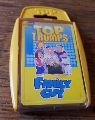 Top  Trumps   Family  Guy      Used