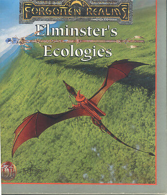 Forgotten Realms - Elminster's Ecologies AD&D 2nd. Edition