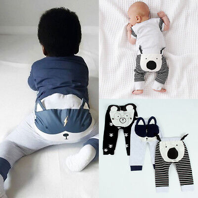 Baby Boy Girls Baggy Harem Pants Sweatpants Joggers Elastic Bottoms PP Leggings