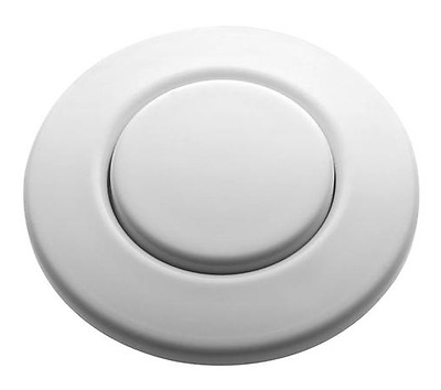BRAND NEW! InSinkErator Sink Top Button  -  STC-WH - WHITE