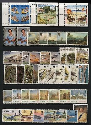 Jersey Collection Modern Stamps (Inc Sets) Unmounted Mint