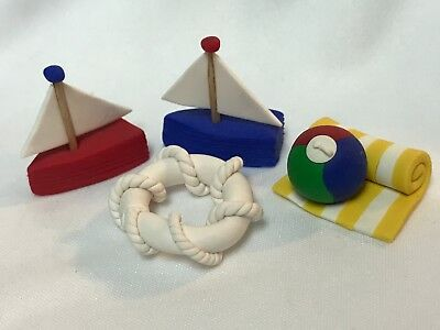 Miniature Beach Accessories  for Wee Forest Folk