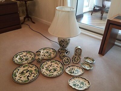 Large Collection Of Masons Chartreuse
