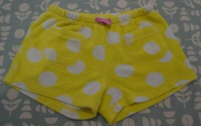 Mini Boden Girls Towelling Shorts - Age 7 Years - Great Condition