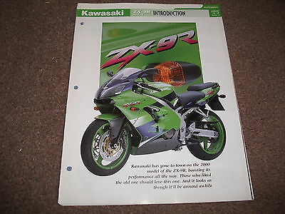 KAWASAKI ZX-9R ( 2000 )  the complete essential superbikes file