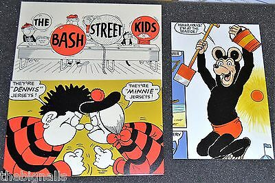 The BEANO  3 POSTCARDS (B)   new