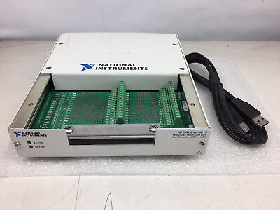 National Instruments DAQPad-6015 USB Multifunction DAQ 191790D-02