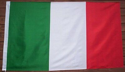 GIANT, ITALY FLAG, ITALIAN FLAG,  5ft x 3ft