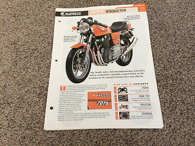 Larverda jota the complete fact file from essential superbikes