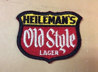 Vintage Old Style Beer Delivery Man Uniform Patch Sheboygan WI Advertising