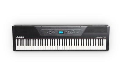 Alesis Recital Pro Stage Digital Piano Keyboard 88 Tasten Hammermechanik Split
