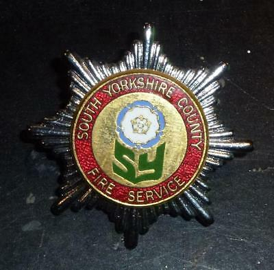 South Yorkshire County Fire Brigade badge