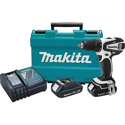 "Makita XFD01RW 18V LXT Lithium-ion Compact Cordless 1/2"" Driver-Drill Kit"