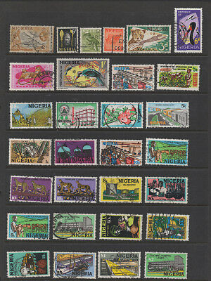 Nigeria, selection of 30 stamps.
