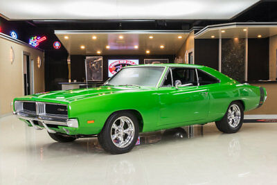 1969 Dodge Charger  Rotisserie Restored! 440ci V8, 4-Speed Pistol Grip, 4-Wheel Disc, PB, PS, A/C