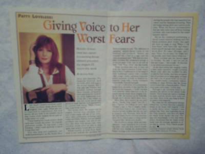 1993 PATTY LOVELESS Country Music Article
