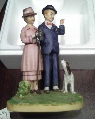 Norman Rockwell Porcelain Figurine The Pest 1982