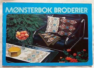 Vintage Scandinavian Norway Embroidery Pattern Book - Gunnar P Design