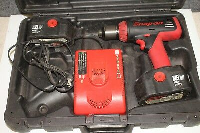 Snap-On 1/2 Heavy Duty Cordless Impact Wrench CT68500 18v High Output Tool Used