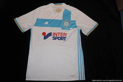 Olympique Marseille 2016-2017 Home Football Shirt XLARGE XL