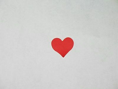 **100** Small Heart Tanning Stickers