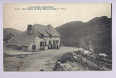 carte postale cantal  HOTEL DU PUY MARY