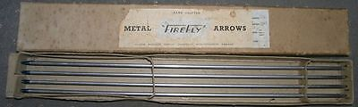 Vintage Archery Box of 8 Firefly Arrows by Severn Products Ombersley OMB