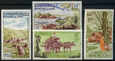 Laos 1960 SG#105-108 Air, Tourism MNH Set #D58550