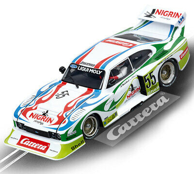 Carrera 30817 Digital Ford Capri Zakspeed Turbo Slot Car 1/32 Scale