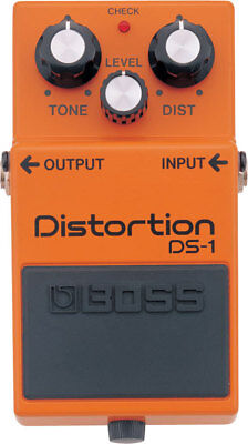 NEW Boss DS-1 Distortion PEDAL Effects Electric Guitar Accessories Stompbox