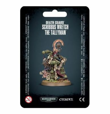 SCRIBBUS WRETCH 43-45 The Tallyman (Games Workshop Warhammer 40K) New Sealed