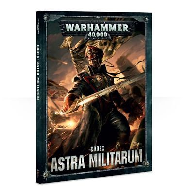 CODEX ASTRA MILITARUM Hard Cover (Games Workshop Warhammer 40K) NEW Sealed