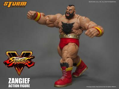 Street Fighter V Zangief 1/12 action figure Storm Collectibles U.S. seller
