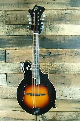The Loar LM-520-VS Carved F style Mandolin-  Broken End Pin #D1057