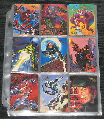 1995 Fleer Ultra Spider-Man BASE Set of 150 Cards NM/M, Mavel RARE!